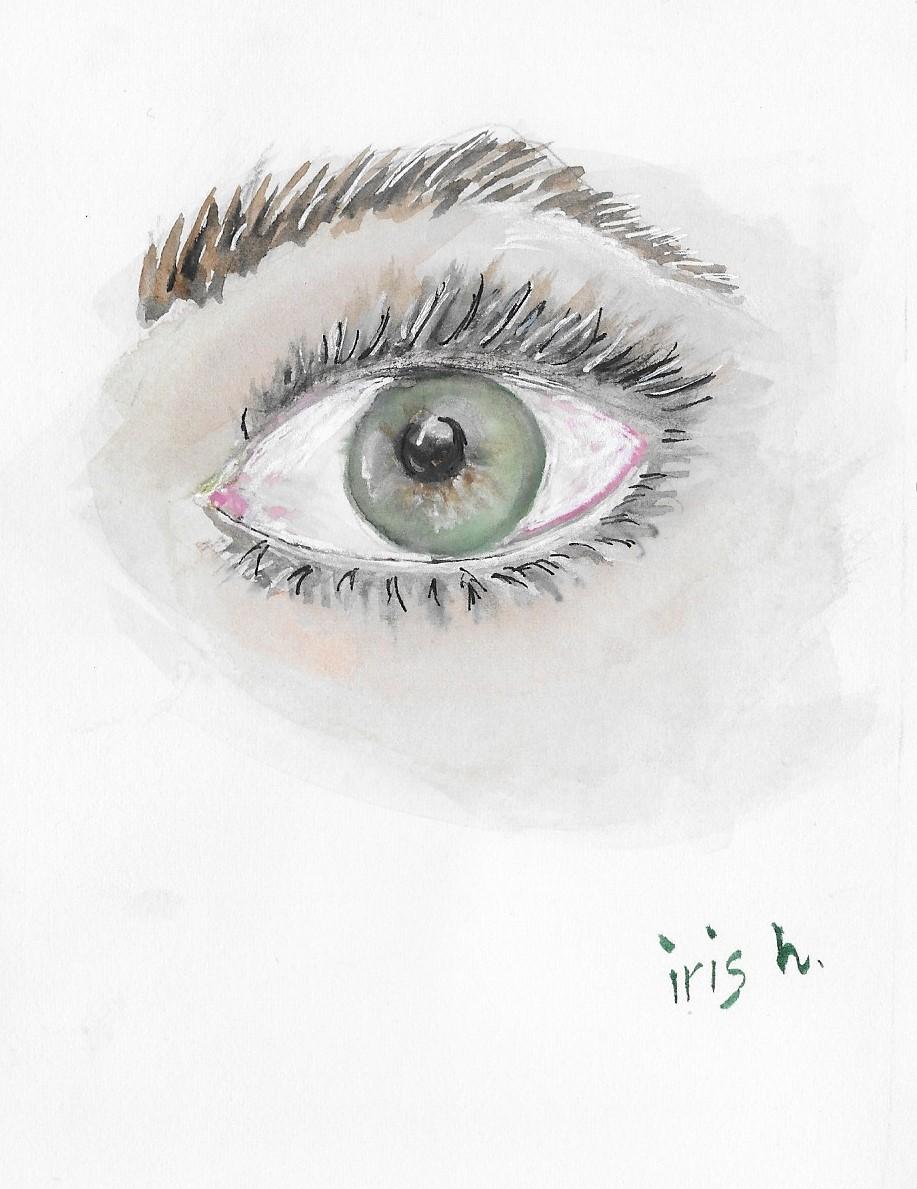 Eye drawing by Iris H.